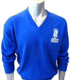 Custom Greek V-Neck Sweater