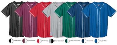 New Baseball Jersey colors