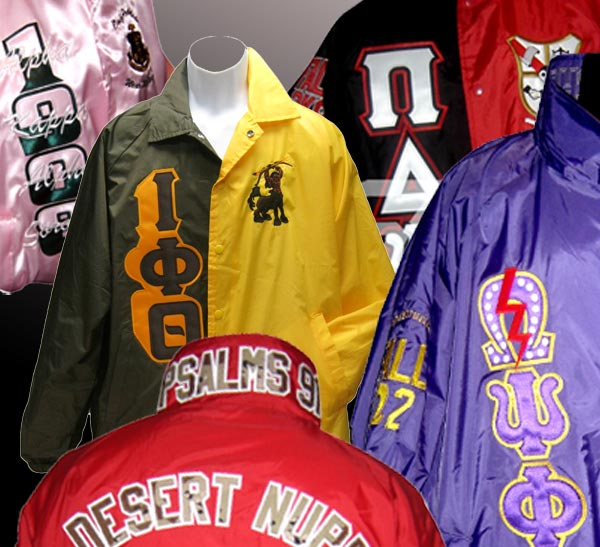 Unique Greek letters on Greek apparel