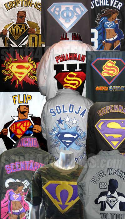 Super Greek fraternity sorority jackets